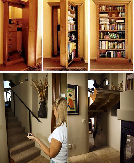 Тайная дверь в вашем доме