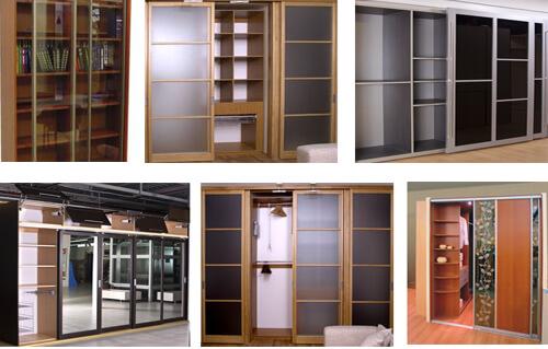 Варианты шкафов купе конструкция