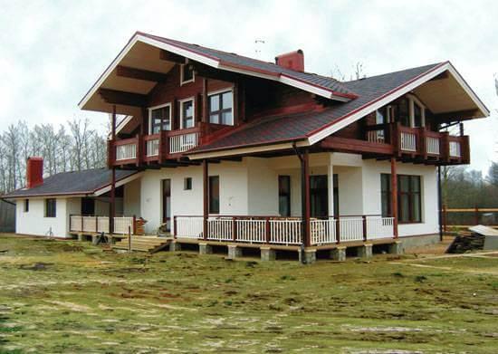 Комбинированные дома в Перми можно встретить сегодня в разных микрорайонах...