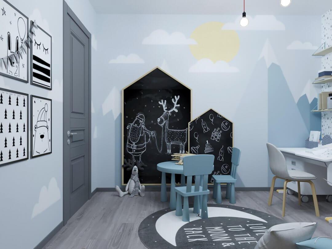 Дизайн квартиры DI56 [ЖК SKY]