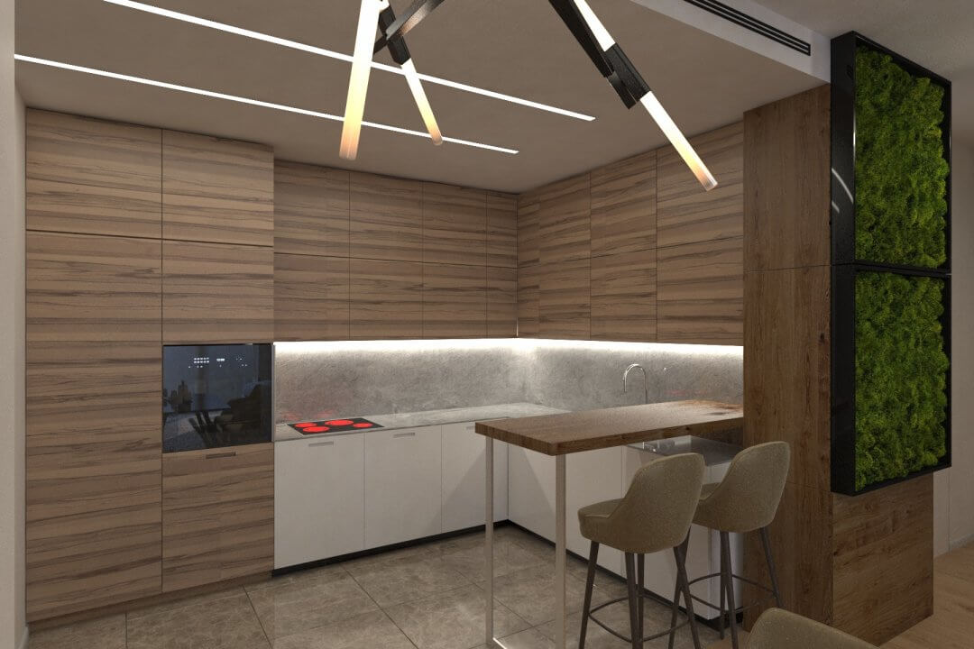 Дизайн квартиры WD120 [ЖК Дельмар]