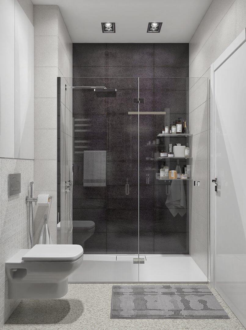 Дизайн квартиры CV81 [ЖК Чикаго]
