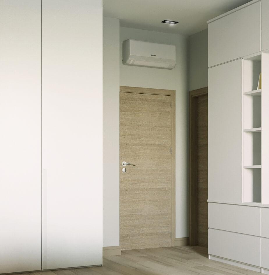 Дизайн интерьера двухкомнатной квартиры ЖК Престиж холл GP110